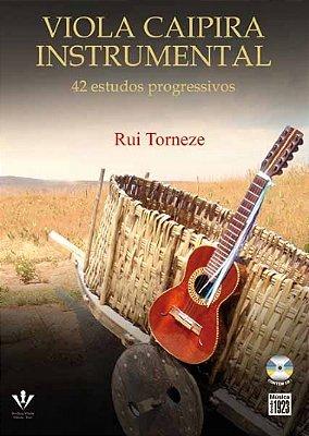 Método Viola Caipira Instrumental Rui Torneze