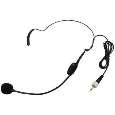 Microfone Auricular Avulso Sem Fio Karsect HT9 P2 Rosca
