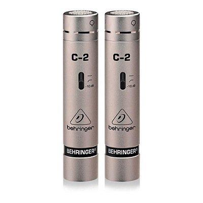 Kit Microfone Condensador Behringer C-2