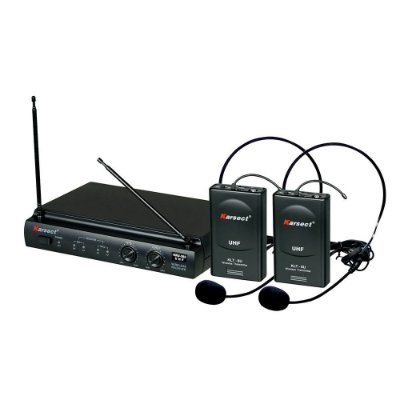 Microfone Headset Sem Fio Karsect KRU302
