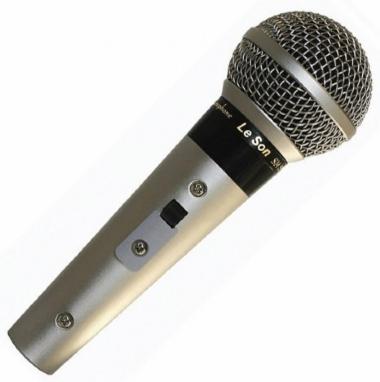 Microfone de Mão Le Son SM58 P4