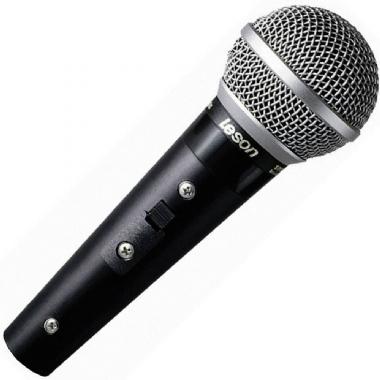 Microfone de Mão Le Son SM58 Plus