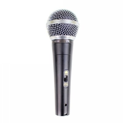 Microfone de Mão PZ Pro Audio PZ-58