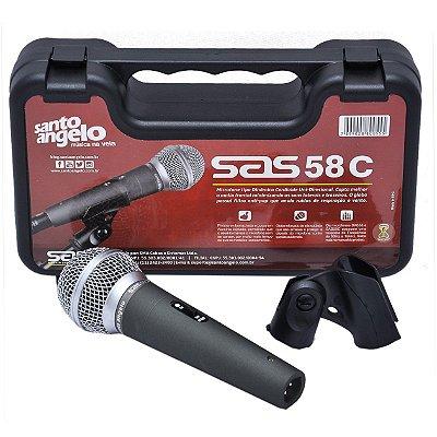 Microfone de Mão Santo Angelo SAS 58C