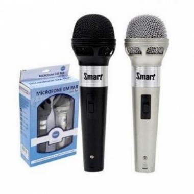 Microfone de Mão Smart MC201 (2 unids)
