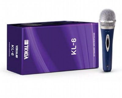 Microfone de Mão Vokal KL-6