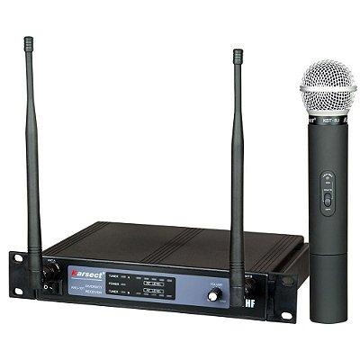 Microfone sem Fio de Mão Karsect KRU101