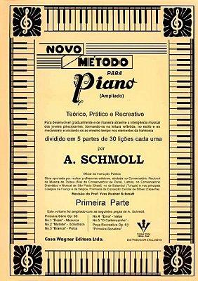 Método Novo para Piano A. Schmoll - Vol 1