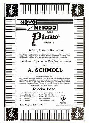 Método Novo para Piano A. Schmoll - Vol 3