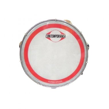 "Pandeiro 10"" Contemporânea Fórmica Super Nylon 30 CT SSNB"