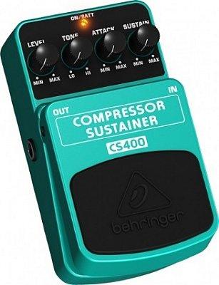 Pedal Compressor Sustainer Behringer CS400