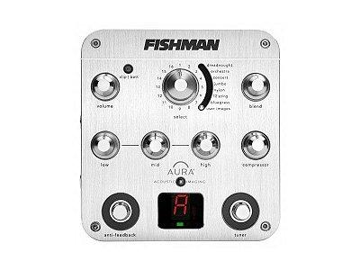Pedal para Violão Fishman Aura Spectrum DI Pro-Aur-Spc