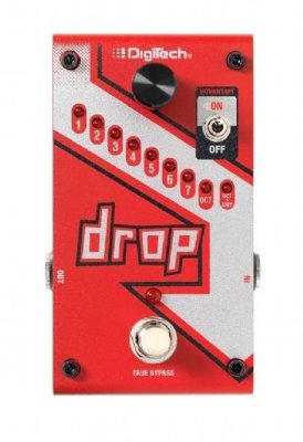Pedal Guitarra Digitech Drop V-01