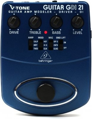 Pedal para Guitarra Behringer Distortion V-Tone GDI21