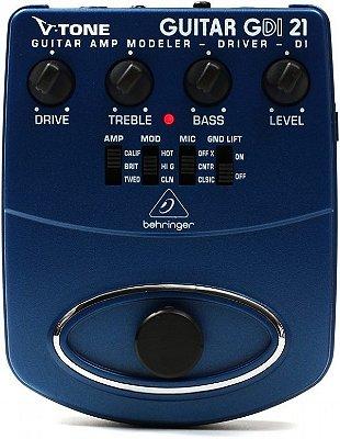 Pedal para Guitarra Behringer Distortion V-Tone GDI21
