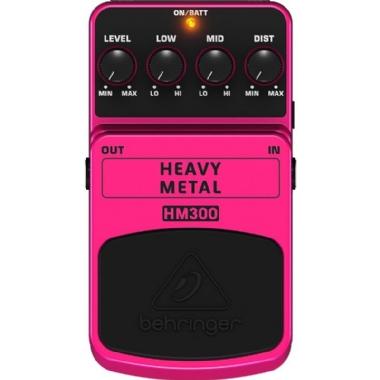 Pedal para Guitarra Behringer Heavy Metal HM300