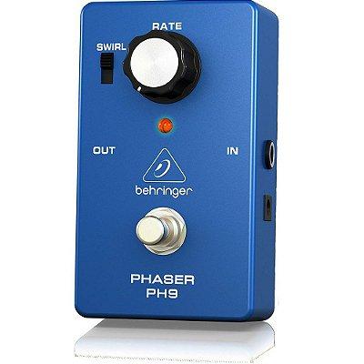 Pedal para Guitarra Behringer Phaser PH9