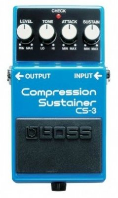 Pedal para Guitarra Boss Compressor CS3