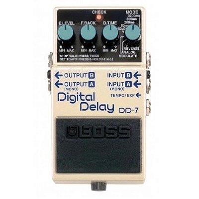 Pedal para Guitarra / Violão Boss Digital Delay DD7