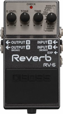 Pedal para Guitarra Boss Digital Reverb RV-6