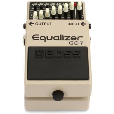Pedal para Guitarra Boss Equalizer GE-7