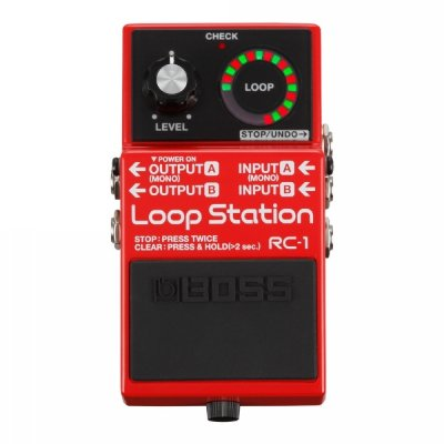Pedal para Guitarra Boss Loop Station RC-1