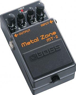 Pedal para Guitarra Boss Metal Zone MT-2