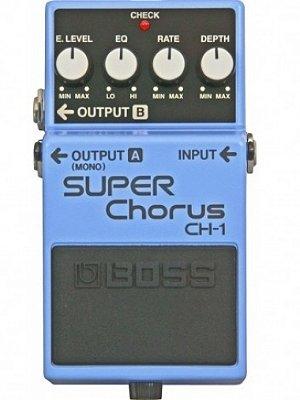 Pedal para Guitarra Boss Super Chorus CH1