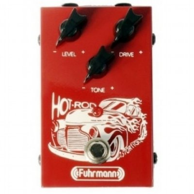 Pedal para Guitarra Fuhrmann Hot Rod HR01
