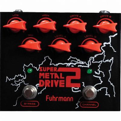 Pedal para Guitarra Fuhrmann Super Metal Drive 2