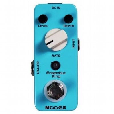 Pedal para Guitarra Mooer Ensemble King Analog Chorus MEKAC