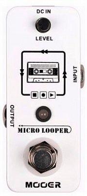 Pedal para Guitarra Mooer Micro Looper MLP1