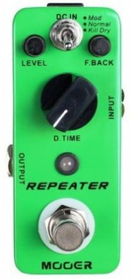 Pedal para Guitarra Mooer Repeater 3 Modes Digital Delay MDL1