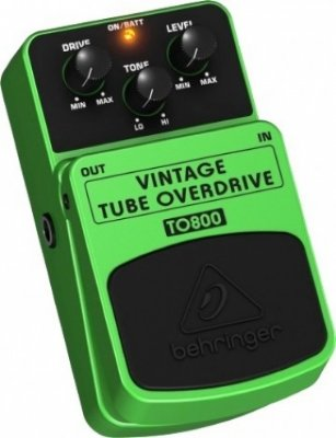 Pedal Tube Overdrive Behringer TO800