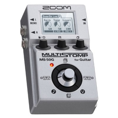 Pedaleira Guitarra Multi-efeitos Stompbox Zoom MS-50G