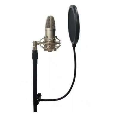 Pop Filter Anti Puff Turbo Eletronic POP 20