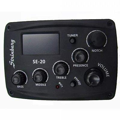 Pré-Amplificador Violão Strinberg SE-20