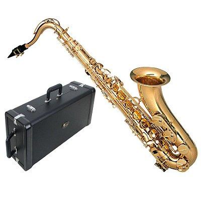 Saxofone Tenor Hofma SIB HST402 GLQ
