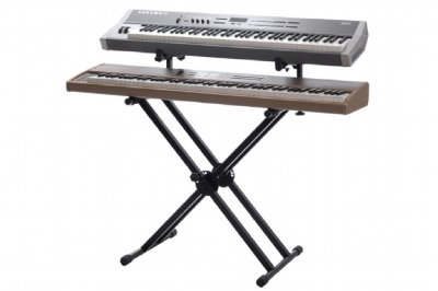 Suporte Piano Digital e Teclado Duplo Ibox BX2