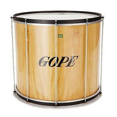 """Surdo 20"""" x 60 Gope Madeira / Couro BME6020CR"""
