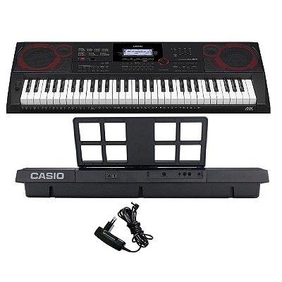Teclado 61 Teclas Casio CT-X3000 5/8 com Fonte