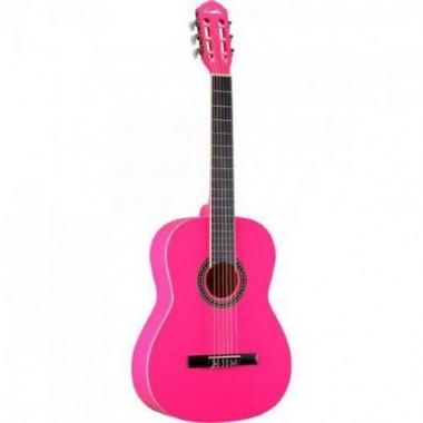 Violão Acústico Nylon Memphis AC39 Pink