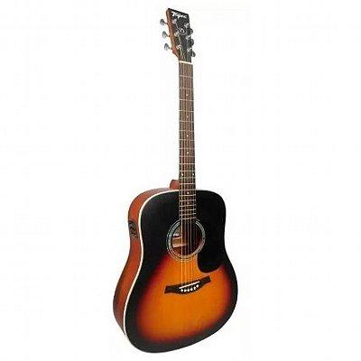 Violão Elétrico Aço Tagima Folk TW25 Woodstock DS