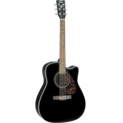 Violão Elétrico Aço Yamaha Folk FX370C BK