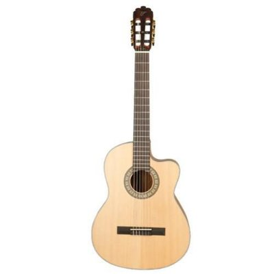 Violão Elétrico Nylon Tagima Mini Jumbo Walnut One Classic Natural