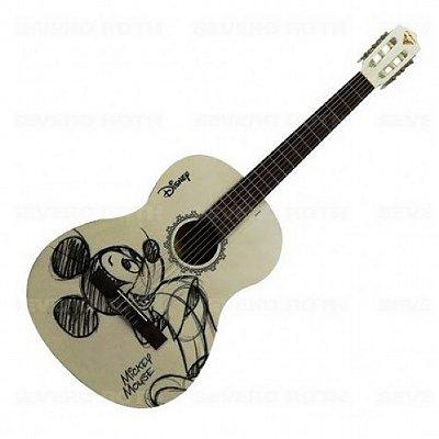 Violão Infantil Acústico Nylon Phoenix Mickey Mouse MGR 1
