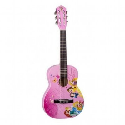 Violão Infantil Acústico Nylon Phoenix Princesas Disney