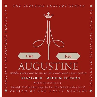 Encordoamento Violão Nylon Augustine Classic Red .028 Tensão Média