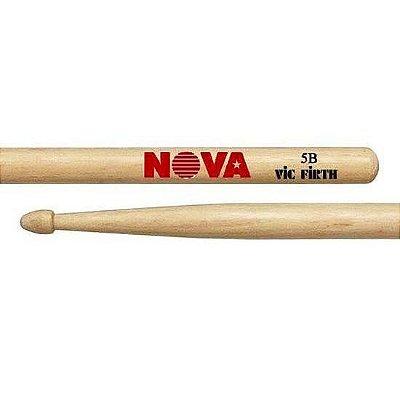 Baqueta de Madeira Hickory Vic Firth 5B Nova 6091