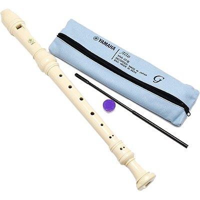Flauta Doce Contralto Yamaha Germânica YRA 27 III